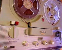 Where's the iPod input? (plasticbrain777) Tags: tape hifi reel