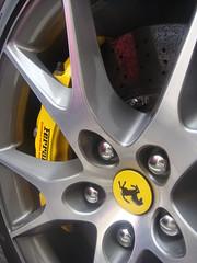 Ferrari California Wheel (Alex Penfold) Tags: california black london cars alex up car wheel closeup photography photo close image picture fast ferrari photograph badge brakes brake 2009 supercar spotting supercars penfold zooomed
