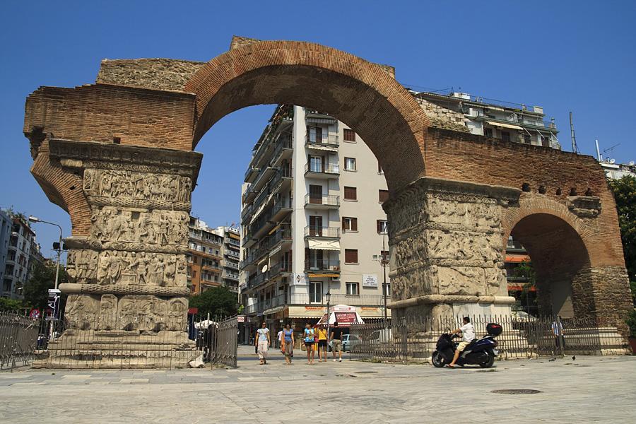 Thessaloniki / Saloniki  / Grecja 2009 / Arch