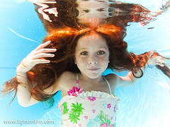 slow motion (david_CD) Tags: girls pool kids swim hair children underwater dive actor headshots ver1 losangles childish lightonkids 93455094