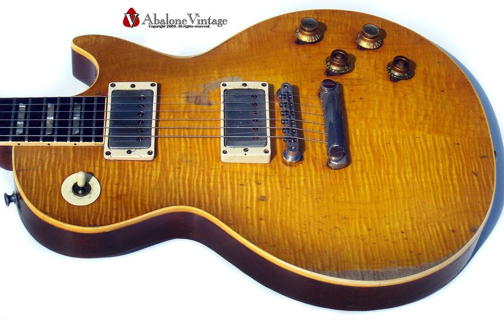 Peter Green Les Paul Greeny Greenie 1959 Gibson Les Paul Standard guitar Gary Moore Burst guitar collection AKA Melvyn Franks Burst