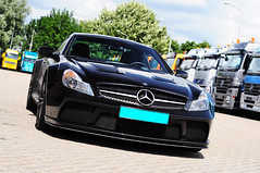 Mercedes-Benz SL 65 AMG Black Series (Martijn Beekmans) Tags: auto black car nikon nederland sl mercedesbenz series 65 amg sl65 combo d90
