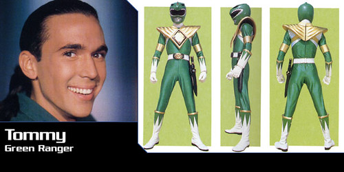 power ranger verde