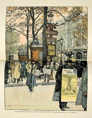 012-En el Gran Boulevard cerca del Vaudeville-Paris from the earliest period to the present day 1902