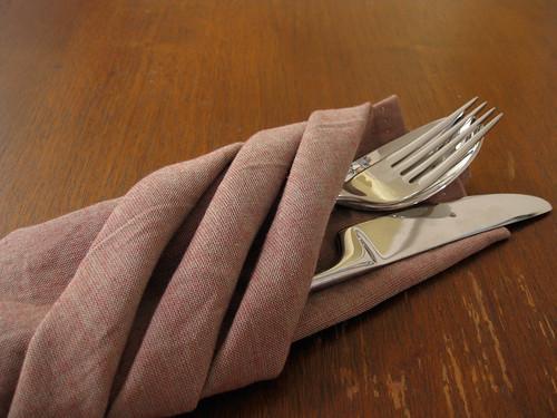 hand-made napkin