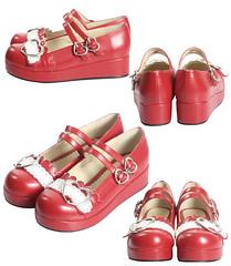 Bodyline Heart Buckle replica shoes