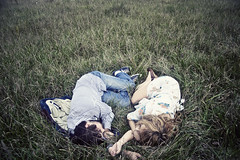 (yyellowbird) Tags: boy sleeping love girl field nest explore cari frontpage brianpeters