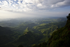 Sunset on the Simien Mountains (Hulivili) Tags: mountains landscape simian simien ethiopiaafricatravelseptember2009