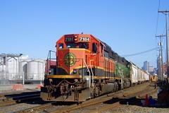 BNSF 7184 - SD40-2