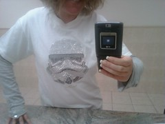 Bedazzled Storm Trooper Tee
