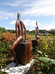 2008-01-27-Stoneleigh-2007-04-11-Haeata and Porehu (russellstreet) Tags: newzealand sculpture auckland nzl manukau pauldibble aucklandbotanicalgardens sculpturesinthegarden2007 stoneleighsculpturesinthegarden2007 haeataandporehu