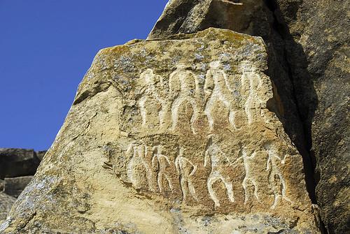 Gobustan's petroglyph