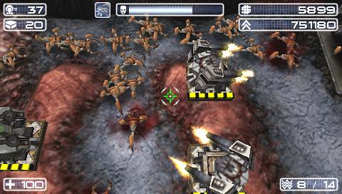 Savage Moon PSP Screenshot 1