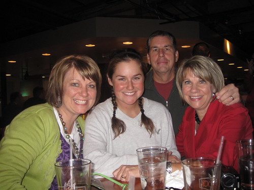 Caroline and family at Red Rock Brewing Co