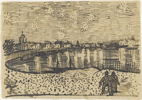 Starry night over the Rhône - October 1888 (693)