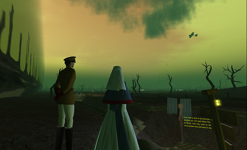 The First World War Poetry Digital Archive in Second Life