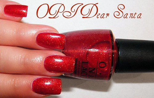OPI Dear Santa