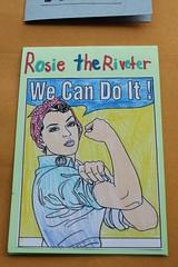 Rosie Riveter simple fold1