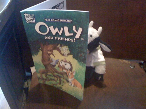 I wish I was one of Owly's friends.