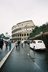 Colosseo (*Bang Bang Boy*) Tags: rome film voigtlander colosseum 21mm kodak400nc bessat filmism