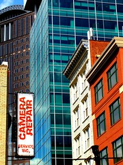 Pennsylvania ~ Pittsburgh (e r j k . a m e r j k a) Tags: street signs architecture downtown pittsburgh cityscape pennsylvania allegheny goldentriangle i79pa erjkprunczyk