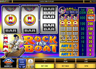 Rock the Boat slot game online review