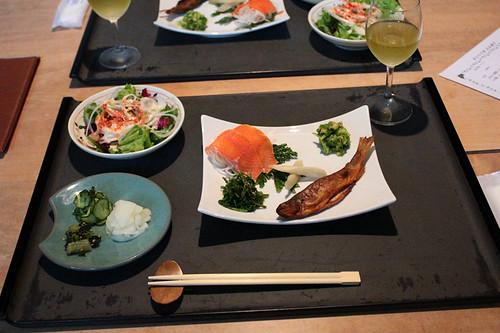 手白澤温泉夕食