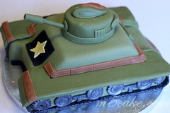 Military Tank Cake - 11