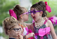 Lil' Miss Hon's (crabsandbeer (Kevin Moore)) Tags: girls people cute kids children fun glasses little hairdo kitsch baltimore event miss beehive hampden hon cateye excitment honfest