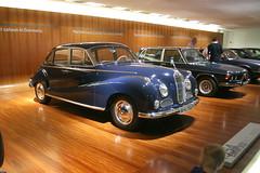BMW 502 von 1954 - BMW Museum