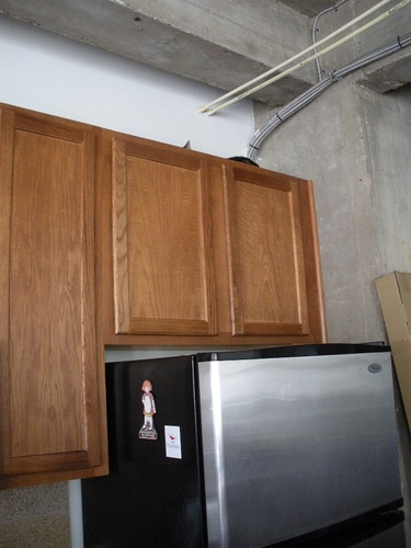 Can you see Grace Hopper on on top of the tall cabinets?