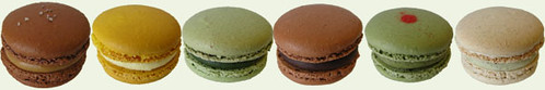 itzy bitzy patisserie: Macaron flavors for January 2009