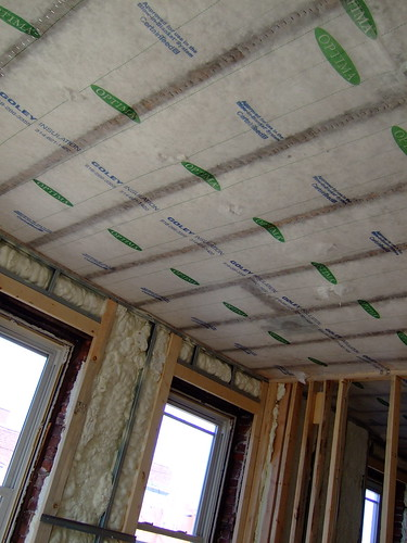 Loose-fill insulation on ceilings (by ann-dabney)