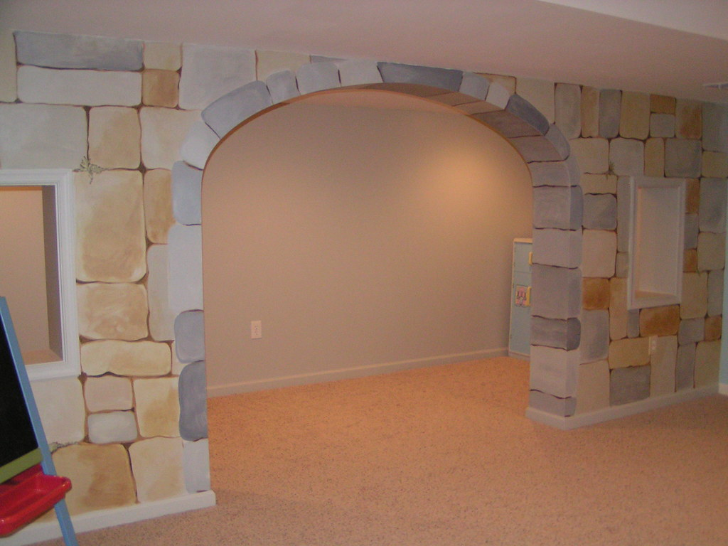 Archway in Wall - after