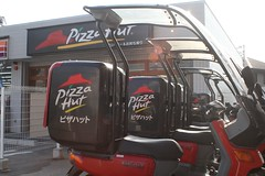 pizza hut Japan (Steve-kun) Tags: food japan restaurant junk italia fastfood bikes mcdonalds pizza jp junkfood pizzahut pizzeria moped macdonalds flickrcom flickrjp flickrflickr jpcom