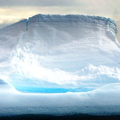 Wall of Ice (Heaven`s Gate (John)) Tags: ocean cruise blue light sea cliff white cold ice expedition wall landscape arch dramatic antarctica discovery icebergs drakepassage bergybits mvdiscovery 10faves 25faves johndalkin heavensgatejohn antarcticsound wallofice