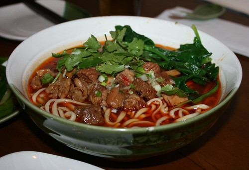Sichuanese Spicy Beef Noodles