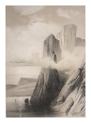 007-Montañas en el sur de la pared Hornvig Cabo Norte-Noruega