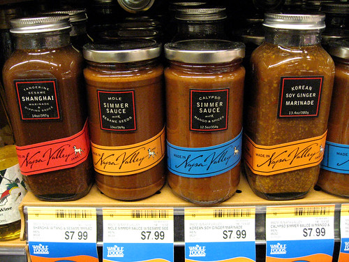Napa Valley sauces