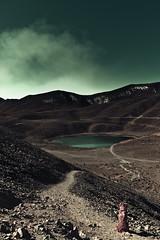 The Road Ahead (Luis Montemayor) Tags: dog lake mexico lago perro sanson nevadodetoluca dflickr dflickr070209