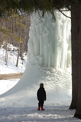 Letchworth Day (annburlingham) Tags: park winter ny newyork ice state frombehind western winner letchworth castile tcf iceformation naturallyframed thechallengefactory ultimategrind