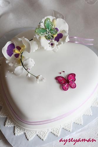 Pansies Cake