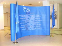 Fotocol para declaraciones en el Parlamento Europeo