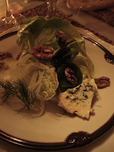 Starter Salad : Dinner Club February