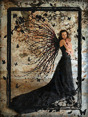Fairy Child ~ Explore (Alexandria LaNier) Tags: baby inspiration art texture costume wings infant butterflies fairy frame fairycourt alexandrialanier theunforgettablepictures rubyphotographer camillesappeal