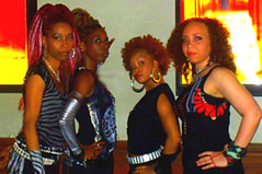 At Wunmi's Video Shoot 2007 (AMINAIZM) Tags: balletinternationalafricans swanday2009 aminaizm aminaheckstall