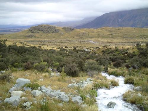 Mt Sunday in the Rangitata Valley