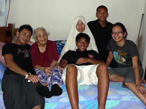 Grandma & Family