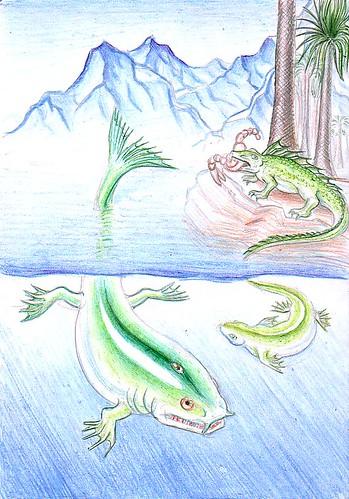Primii amfibieni by you.