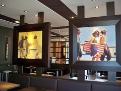 Bilder im McDonald Pirna 3 (kunsthofgohlis) Tags: dresden kunst mcdonald uwe malerei piller gohlis pirna kunsthofgohlis